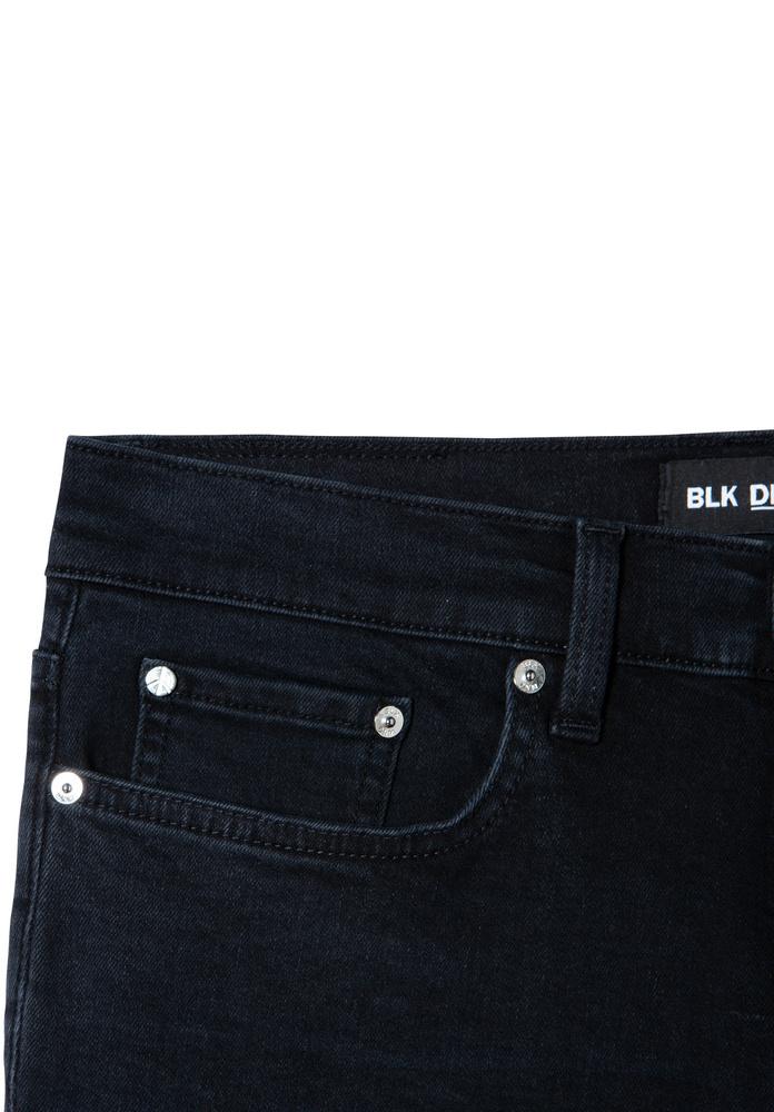 BLK DNM JEANS 25 FULTON BLACK - FULTON BLACK