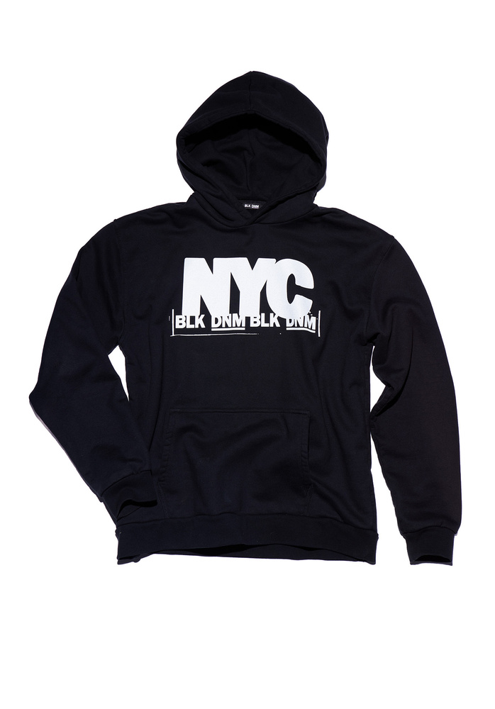 BLK DNM SWEATER 11 NYC  - BLACK WHITE NYC PRINT
