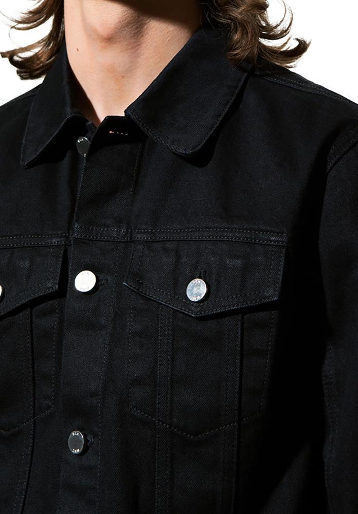 BLK DNM JEANS JACKET 5 IRVING BLACK - IRVING BLACK
