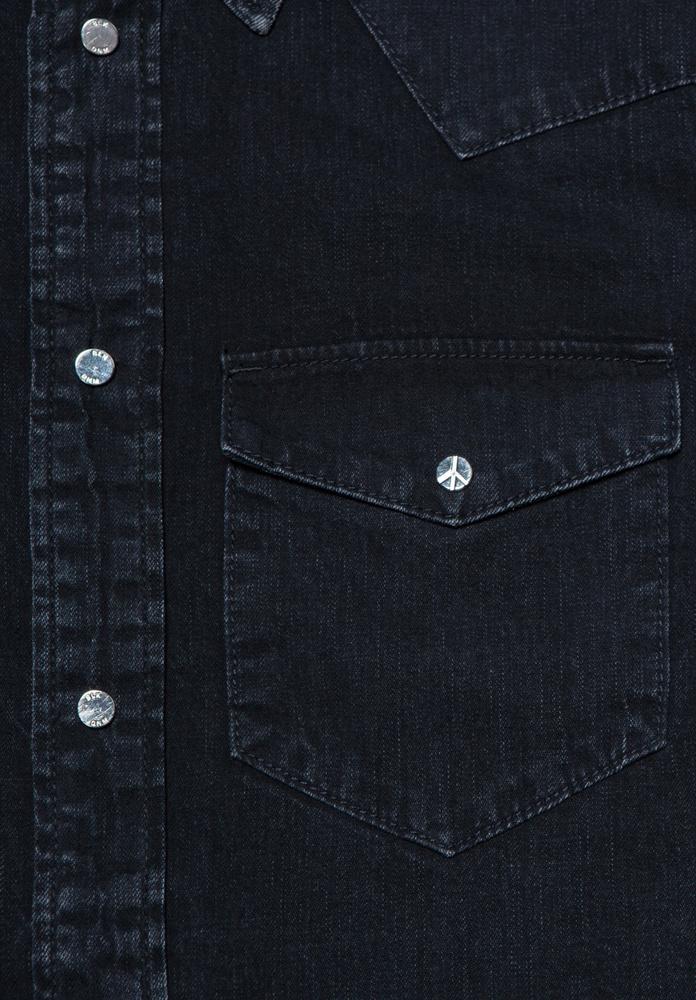 BLK DNM JEANS SHIRT 5 FREEMAN BLACK - FREEMAN BLACK
