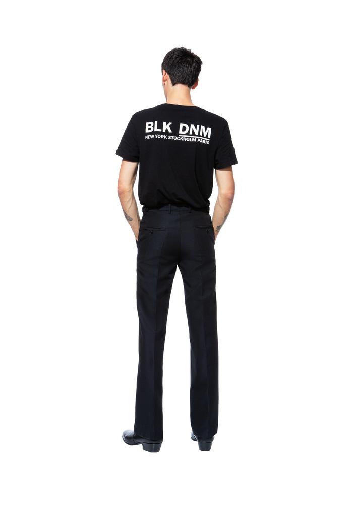 BLK DNM TUX PANT 15 BLACK - BLACK