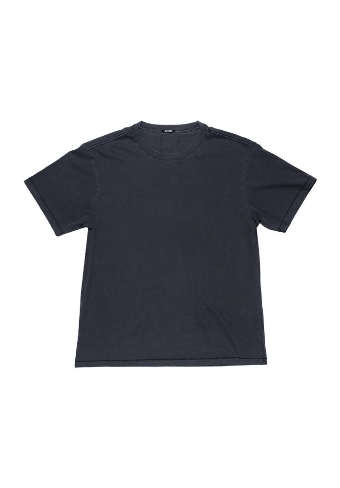 BLK DNM T-SHIRT 20 WASHED BLACK - WASHED BLACK