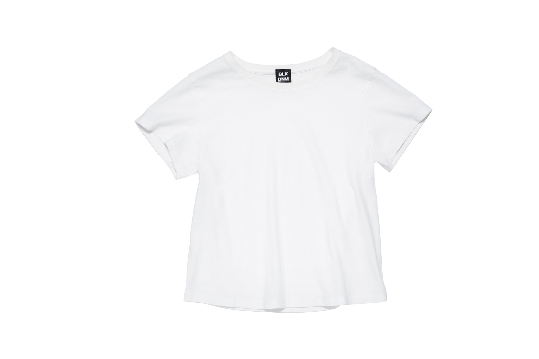 BLK DNM T-SHIRT 6 WHITE - WHITE