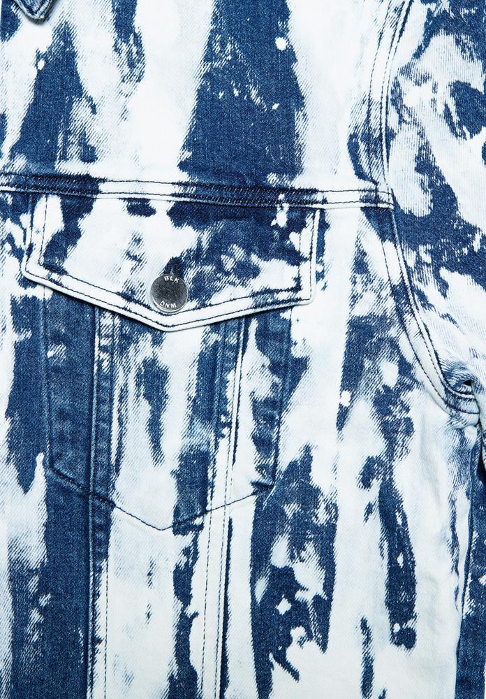BLK DNM JEANS JACKET 5  SOUTHGATE  BLUE - SOUTHGATE  BLUE